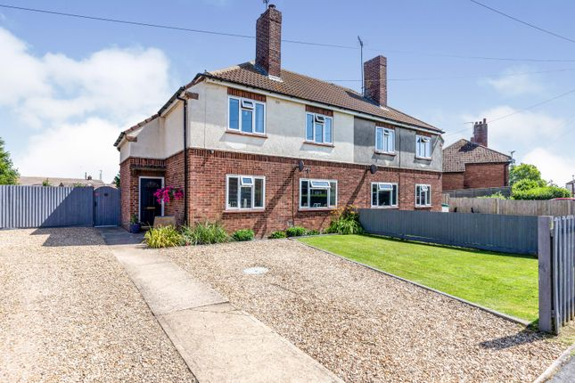 Semi-detached house for sale in St. Johns Road, Weston Hills, Spalding