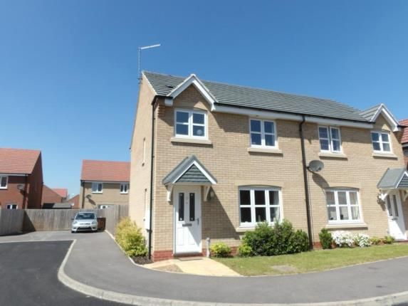 Thumbnail Semi-detached house for sale in Wattle Close, Sileby, Loughborough, Leicestershire