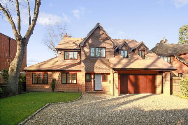 Thumbnail Detached house to rent in Gower Road, Weybridge, Surrey
