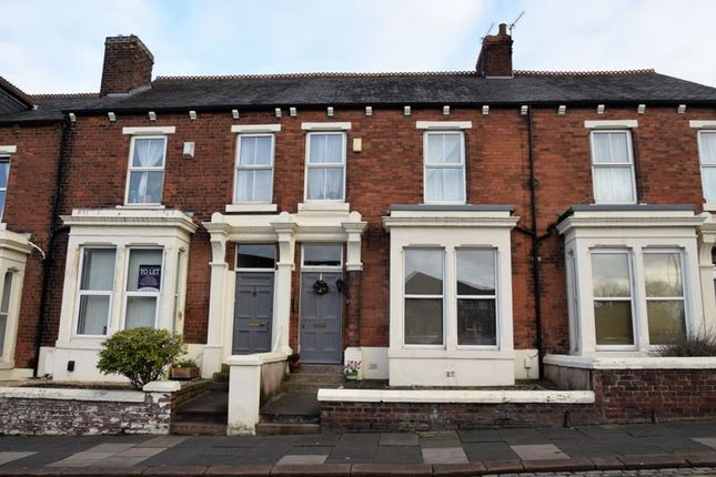 Thumbnail Terraced house to rent in Student House - Church Terrace, Stanwix, Carlisle