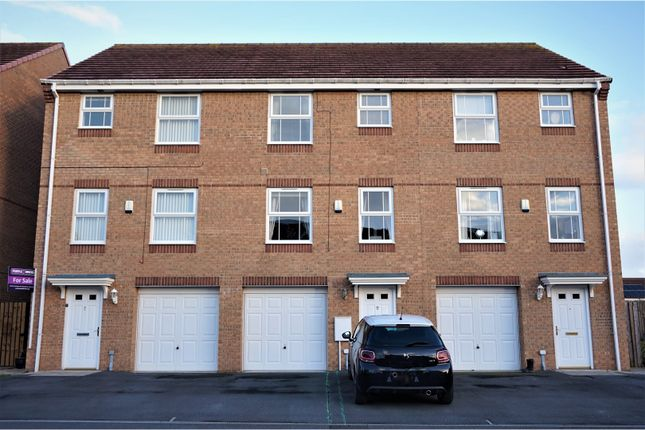 Thumbnail Terraced house for sale in Darbyshire Close, Stockton-On-Tees