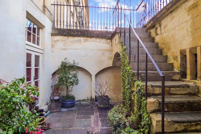Front Steps of Sydney Place, Bathwick, Bath BA2