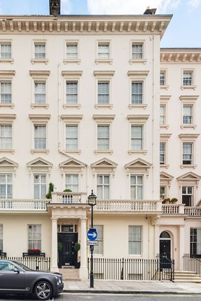 Thumbnail Town house for sale in West Eaton Place, London