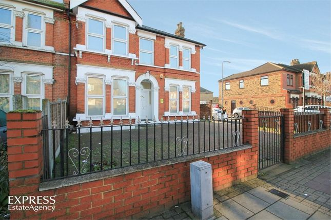 Thumbnail End terrace house for sale in Green Lane, Ilford, Greater London