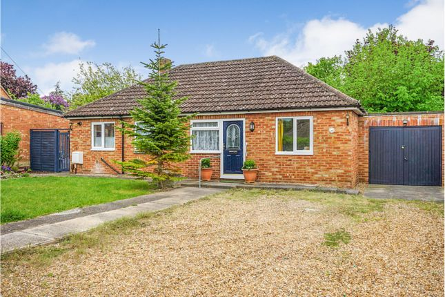Thumbnail Bungalow for sale in Garden Close, Royston