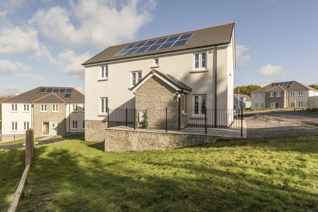 Thumbnail Detached house for sale in Plot 26, Green Meadows Park, Tenby