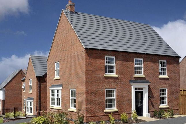 "Thumbnail Detached house for sale in ""Cornell"" at Dunbar Way, Ashby-De-La-Zouch"