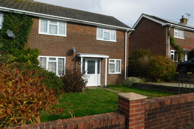 Thumbnail Semi-detached house to rent in Bonners Causeway, Axminster