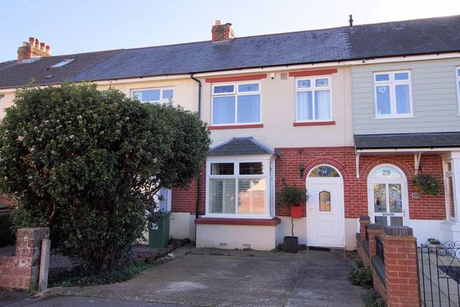 3 bed terraced house for sale in Central Road, Fareham PO16