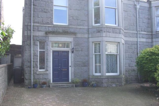 Thumbnail Terraced house to rent in Hamilton Place, Aberdeen