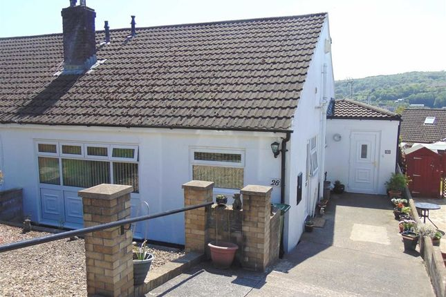Thumbnail Semi-detached bungalow for sale in Moorland Heights, Pontypridd