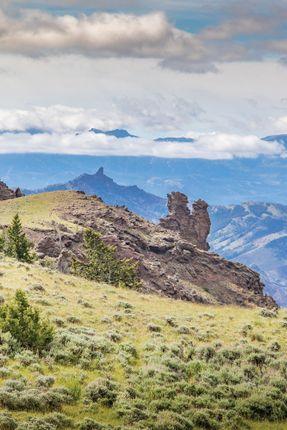 Finger Rocks of Cody, Wyoming, Usa