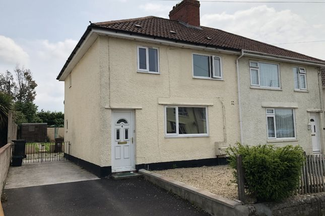 Thumbnail Semi-detached house to rent in Cornwall Road, Shepton Mallet