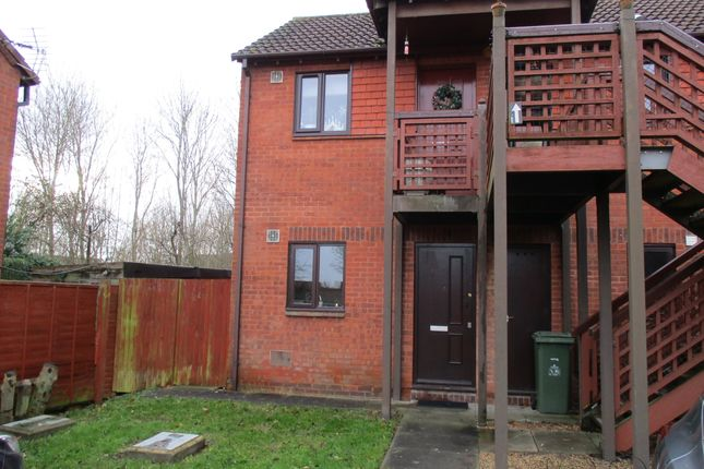 Thumbnail Flat to rent in Buzzacott Lane, Milton Keynes