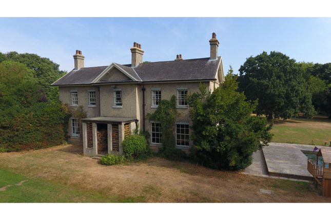 Thumbnail Detached house for sale in Colne Engaine Road, Halstead