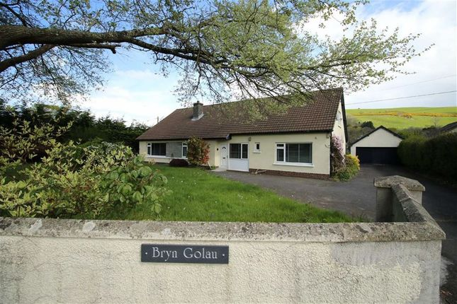 Thumbnail Bungalow for sale in Aberystwyth, Ceredigion