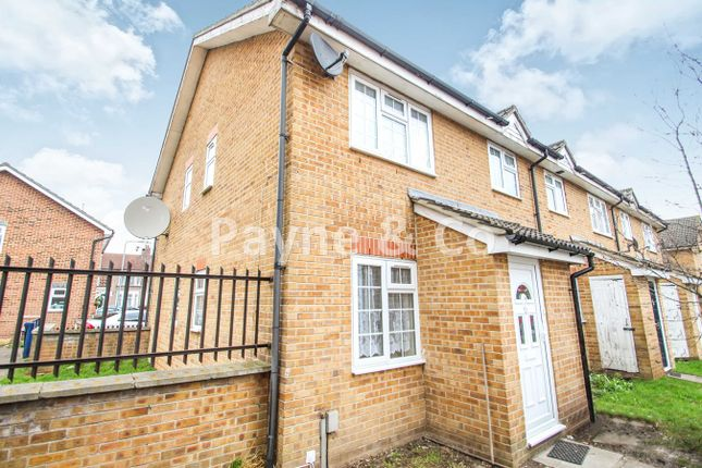 Thumbnail End terrace house for sale in Lancaster Place, Staines Road, Ilford