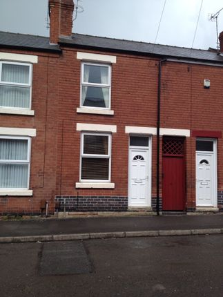 Thumbnail Terraced house to rent in Oxford Street, Spondon, Spondon, Derby