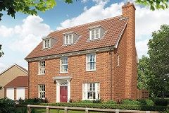 Thumbnail Detached house for sale in Broomfield Road, Stoke Holy Cross