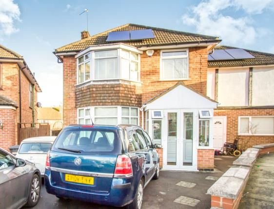 Thumbnail Detached house for sale in Durston Close, Leicester, Leicestershire
