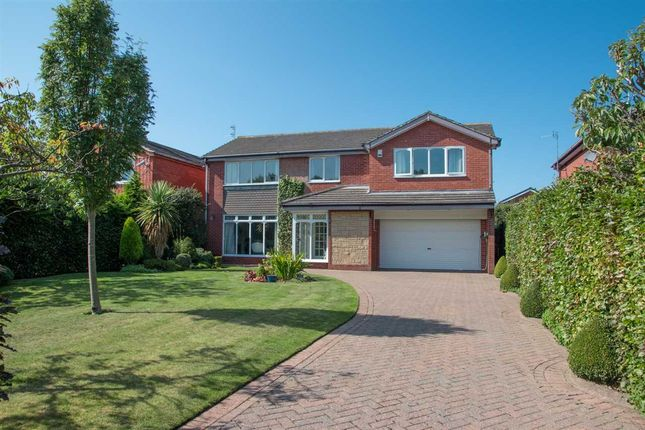 Thumbnail Detached house for sale in Romford Close, Barns Park, Cramlington