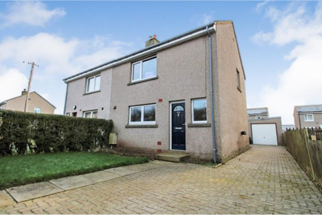 Thumbnail Semi-detached house for sale in Toch-Hill Road, Fordoun, Laurencekirk