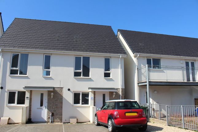 2 bed semi-detached house to rent in Ham, Plymouth, Devon