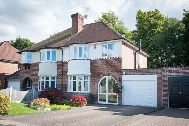Thumbnail Semi-detached house for sale in Haselor Road, Sutton Coldfield