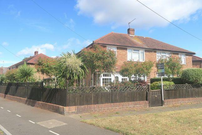 Thumbnail Semi-detached house for sale in Sherborne Road, Bedfont, Feltham