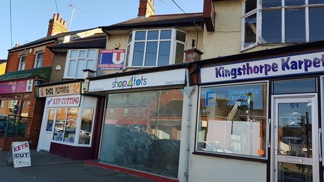 Thumbnail Retail premises for sale in 53 Harborough Road, Northampton