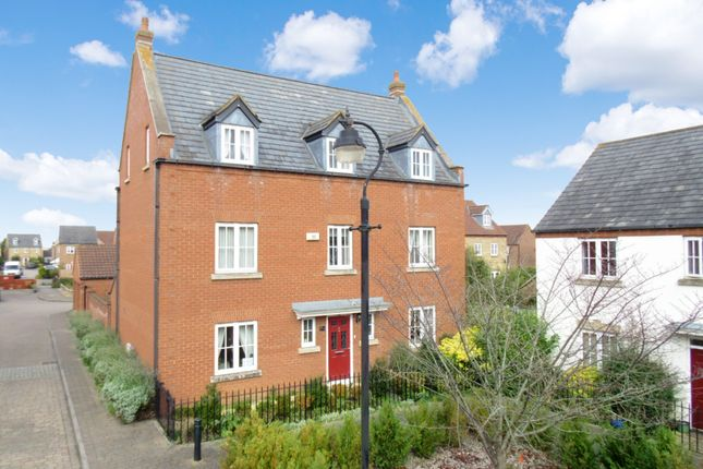 Thumbnail Detached house for sale in Ploversfield, Sandy
