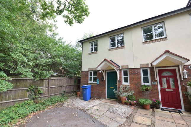 Thumbnail End terrace house to rent in Setter Combe, Warfield, Berkshire