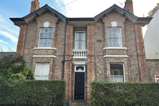Thumbnail Flat to rent in 22 Burton Stone Lane, Off Bootham, York