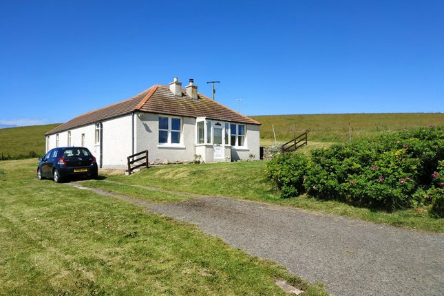 Thumbnail Detached bungalow for sale in Quoyloo, Sandwick, Orkney