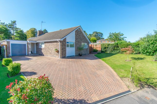 Thumbnail Detached bungalow for sale in The Glebelands, Leicester