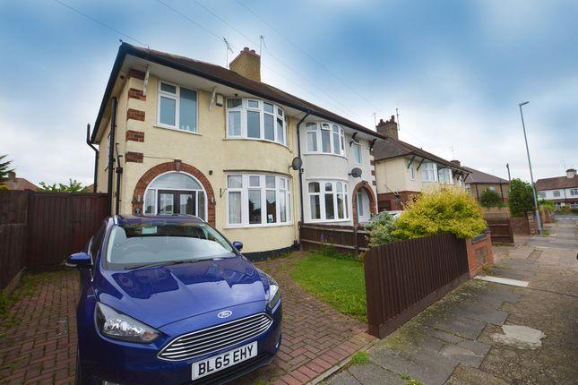 Thumbnail Semi-detached house for sale in Sandiland Road, The Headlands, Northampton