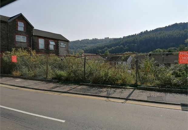 Thumbnail Land for sale in William Street, Ystrad, Rct.
