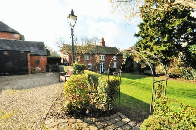 Thumbnail Cottage for sale in Highwood Road, Uttoxeter