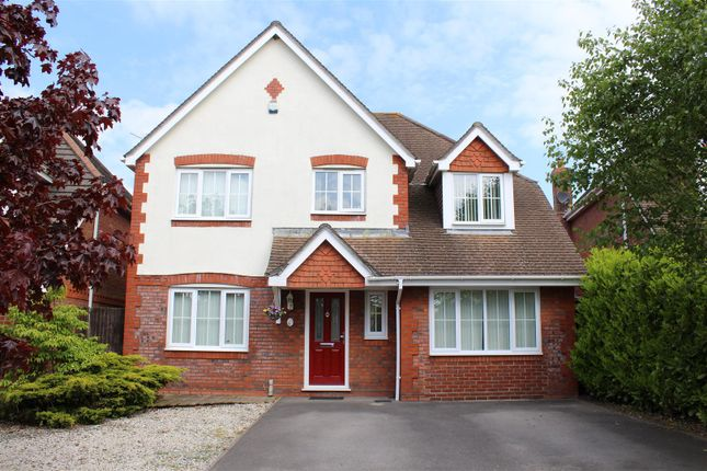 Thumbnail Detached house for sale in Strawberry Mead, Fair Oak, Eastleigh