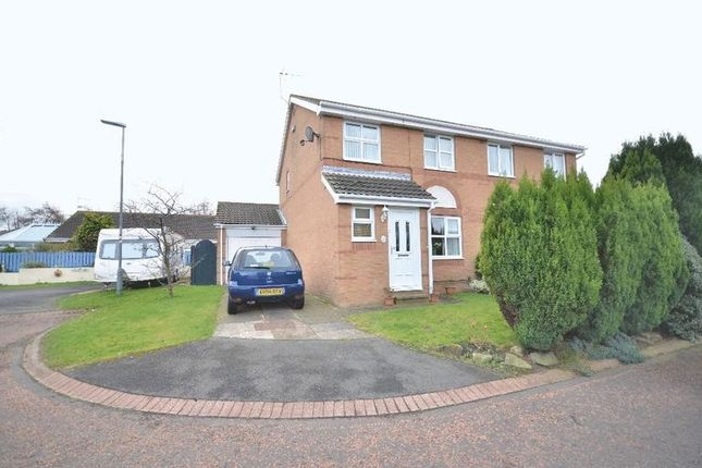 Thumbnail Semi-detached house for sale in Cheviot Gardens, Seaham
