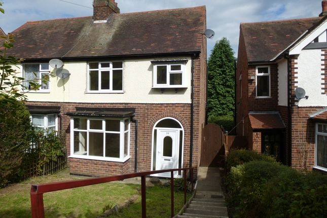 Semi-detached house for sale in Hands Road, Heanor