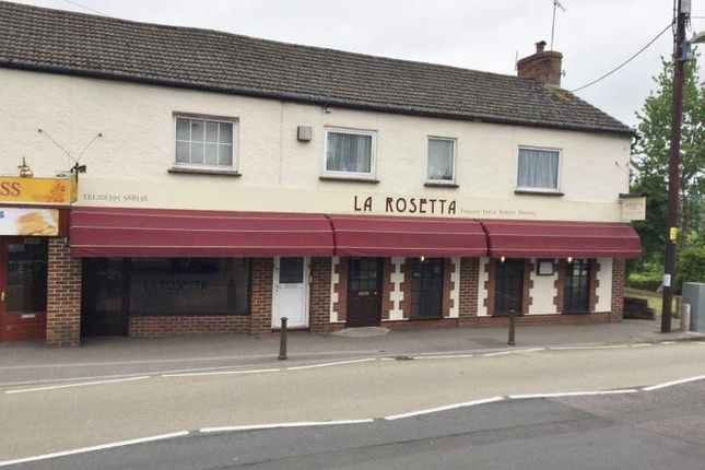 Thumbnail Restaurant/cafe for sale in La Rosetta High Street, Sidmouth