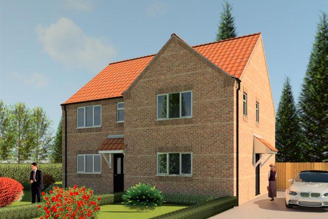 Thumbnail Semi-detached house for sale in Hornbeam Close, Ruskington, Sleaford