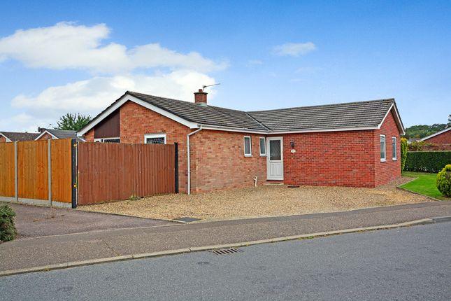 Thumbnail Detached bungalow for sale in Hose Avenue, Roydon, Diss