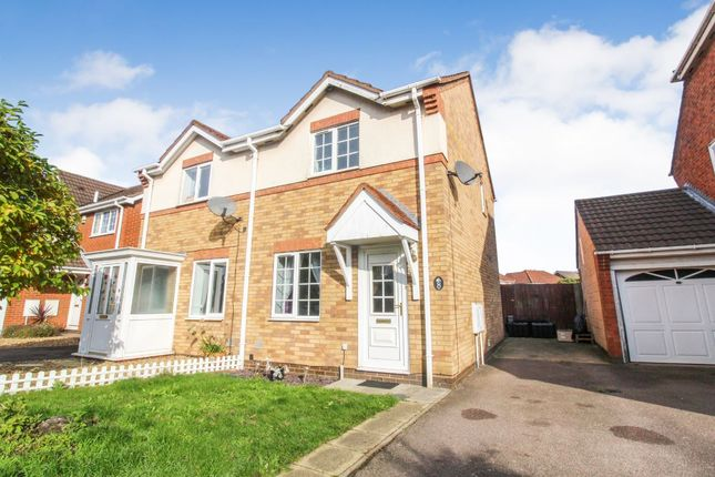 Thumbnail Semi-detached house for sale in Prudden Close, Elstow, Bedford