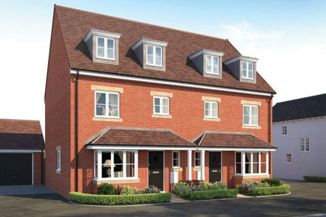 Thumbnail Town house for sale in Manor House Park, The Great Ouse Way, Biddenham