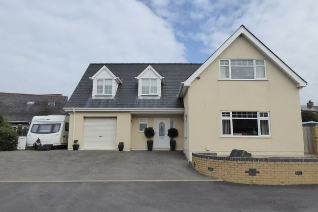 Thumbnail Detached house for sale in County Road, Penygroes, Caernarfon
