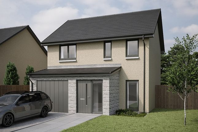 Thumbnail Detached house for sale in Gadieburn Place, Inverurie