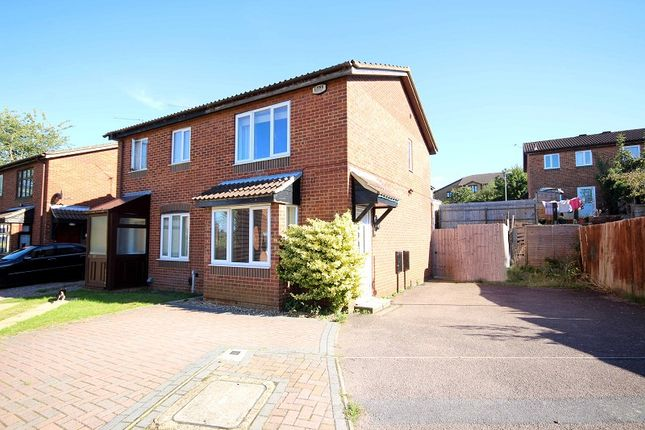 Thumbnail Terraced house to rent in Linnet Close, Wellingborough, Northamptonshire.