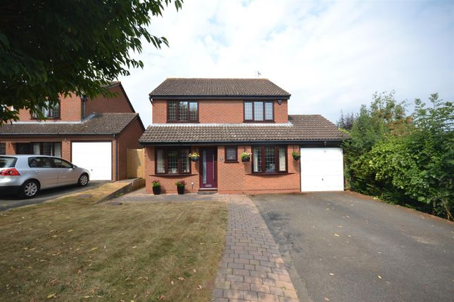 Thumbnail Detached house for sale in Cherrywood Grove, Allesley, Coventry